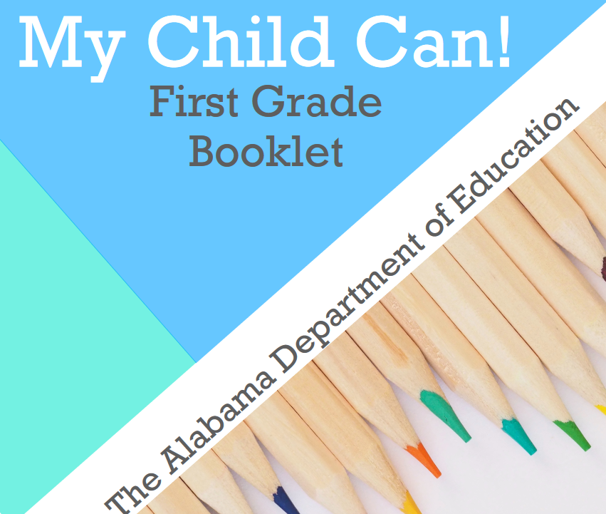 My Child Can! First Grade Booklet