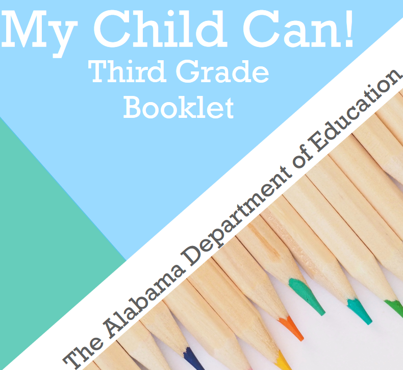 My child Can! Third Grade Booklet